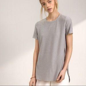 Aritzia Wilfred Capucine Tshirt Grey Size Small